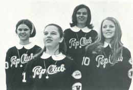 Pep Club Officers